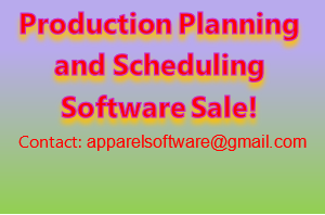 Production Planning and Production Scheduling Software Free /Sale