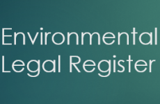 Environmental Legal Register