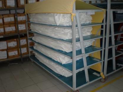 Fabric Relaxation Machine Instruction